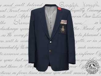 Canada, Commonwealth. An RCAF Veteran's Blazer with Awards, to Pilot Officer Gerald Joseph Lauber