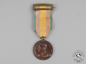 Spain, Kingdom. A Medal for Africa, Bronze Class c.1912