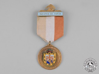 Mexico. A Distinguished Guest Medal, Gold Medal