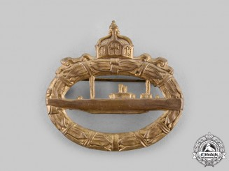Germany, Imperial. A Submarine (U-Boat) Badge