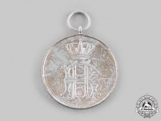 Reuss, Principality. A Silver Medal of Merit, c.1910