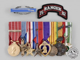 Canada, Commonwealth. A Vietnam War Veteran's Group of Eight