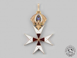 Austo-Hungarian, Empire. An Order of the Temple in Gold, Commander's Badge, c. 1830