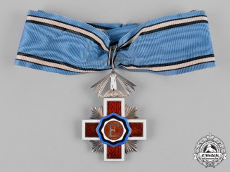 Estonia, Republic. An Order of the Estonian Red Cross, II Class