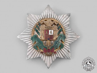 Spain, Fascist State. A Civil Order of Africa, Commander Star, c.1950