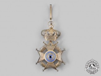 Belgium, Kingdom. An Order of Leopold II, Grand Cross Sash Badge, c.1900