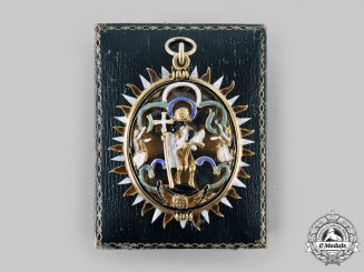 Austria, Imperial. An Order of Saint John in Gold and Quartz, c.1800
