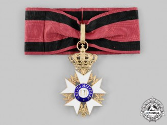 Italian States, Grand Duchy of Tuscany. An Order of Military Merit, Commander by Rothe in Gold, c. 1910