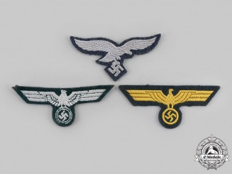 Germany, Wehrmacht. A Lot of Eagle Insignia
