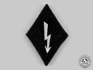 Germany, SS. A Signals Personnel Sleeve Insignia
