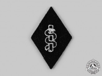 Germany, SS. A Medical Service Sleeve Diamond