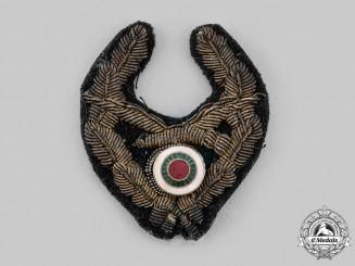 Bulgaria, Kingdom. An Air Force Cap Badge, Bullion Version