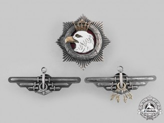 Poland, Republic. Three Post-1945 Badges