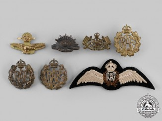 United Kingdom & Commonwealth. A Lot of Seven Second War Badges