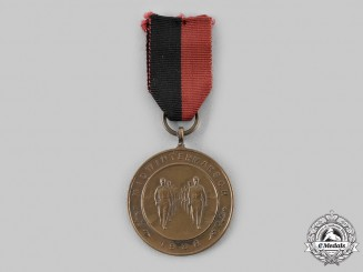 Netherlands, NSB. A Dutch National Socialist Movement (NSB) Mid Winter March Medal, c.1938