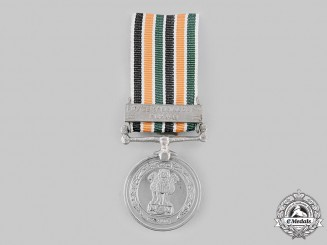 India. A Police Special Duty Medal with Punjab Clasp