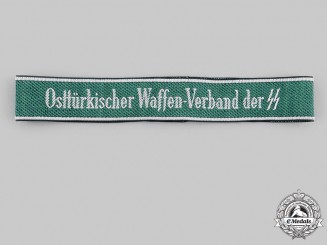 Germany, SS. An Osttürkischer Waffen-Verband der SS Cuff Title