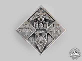 Germany, HJ. A 1934 Deployment Badge
