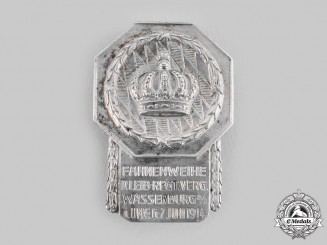 Bavaria, Kingdom. A Wassenburg Leib Regiment  6-7 June 1914 Commemorative Badge