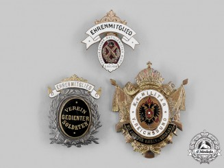 Austria, Imperial. A Lot of Austrian Royal Military Badges