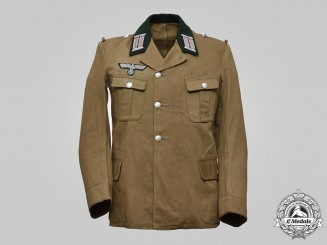 Germany, Heer. A Panzer Officer's Summer Tunic