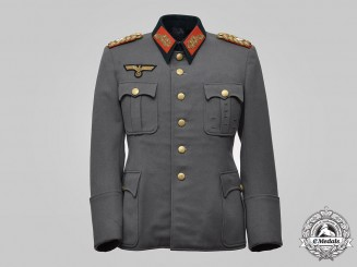 Germany, Heer. The Service Tunic of Generalleutnant Friedrich Dihm, by Ludwig Reichard