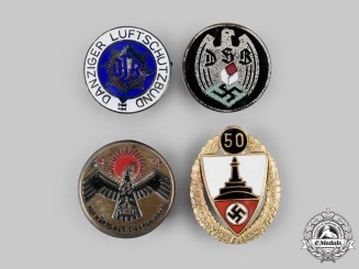 Germany, Third Reich. A Lot of Badges & Membership Insigina