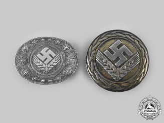 Germany, RAD. A Pair of Reich Labour Service of Youth (RADwJ) Badges