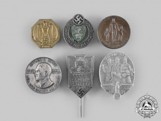 Germany, Third Reich. A Mixed Lot of Badges and Pins