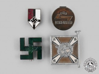 Germany, Third Reich. A Lot of Badges & Membership Insignia