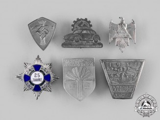 Germany, Third Reich. A Lot of Event & Membership Insignia