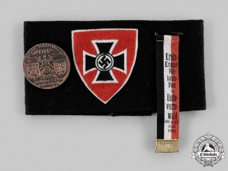 Germany, NSKOV. A National Socialist Reich Warriors' League Membership Armband