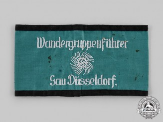 Germany, Third Reich. A Gau Düsseldorf Strength through Joy Wandergruppenführer Armband