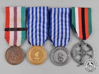 Italy, Republic. A Lot of Four Medals & Awards