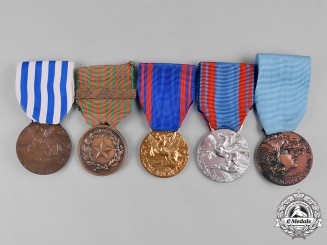 Italy, Republic. A Lot of Five Medals & Awards
