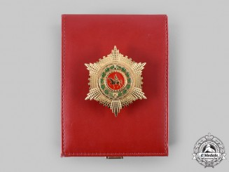 Albania, Republic. A Civil Service Order, Officer's Star, c.2000