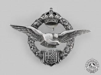 Yugoslavia, Kingdom. An Army Air Service Pilot Badge, by  Kovnica Sorlini, Varazdin