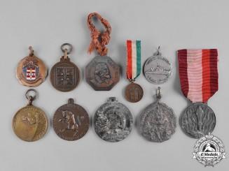 Italy, Kingdom, Republic. A Lot of Ten Medals