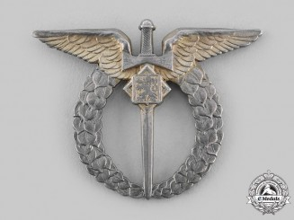 Czechoslovakia, Republic. An Air Force Pilot Badge c.1945