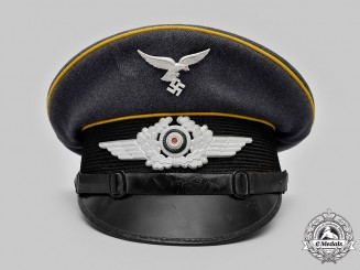 Germany, Luftwaffe. A Flight Personnel NCO's Visor Cap