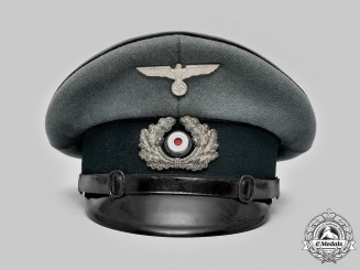 Germany, Heer. An Engineer NCO's Visor Cap
