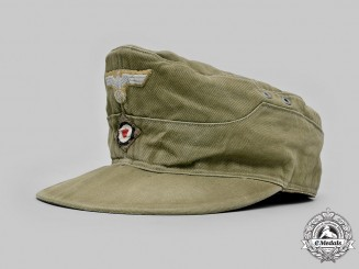 Germany, Heer. An M40 EM/NCO's Tropical Field Cap