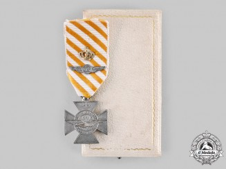 Netherlands, Kingdom. An Airman's Cross to a Four Time Recipient, English-Made, c.1945
