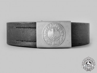 Germany, Heer. An EM/NCO's Belt and Buckle