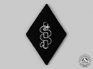 Germany, SS. A SS Medical Service EM/NCO's Sleeve Insignia