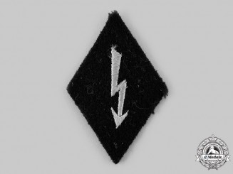 Germany, SS. A SS Signals Personnel EM/NCO's Sleeve Insignia