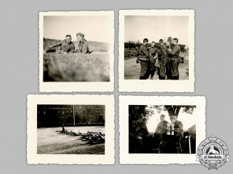 Germany, SS. A Group of Photographs of Waffen-SS Personnel
