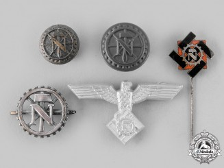 Germany, TeNo. A Lot of Technical Emergency Help Insignia