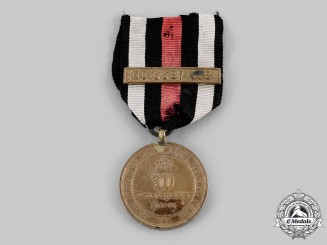 Prussia, Kingdom. A War Commemorative Combat Medal of 1870/71 with Noisseville Clasp
