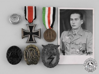 Germany, Luftwaffe. A POW Group of Awards and Badges to Walter Reichmann, Eric Queen Collection